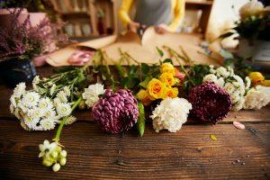 Beautiful Flowers in Flower Shop
